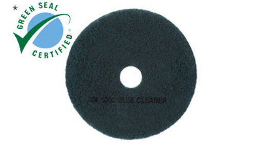 3M™ Blue Cleaner Pad 5300, 12 in x 18 in, 5/Case