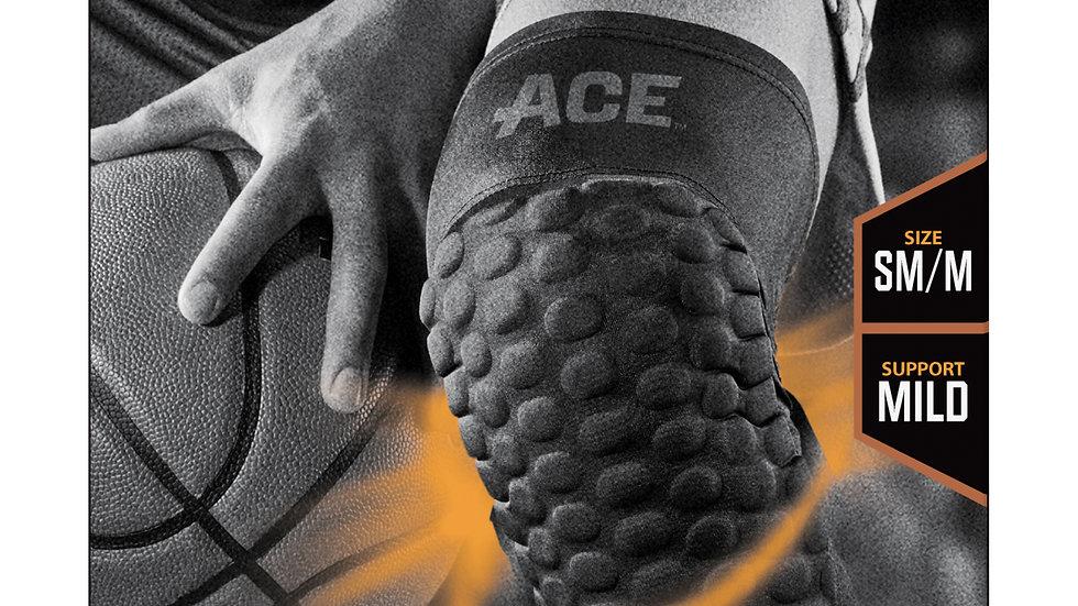 ACE™ Brand Compression Knee Sleeve w Pad 901518, Small / Medium
