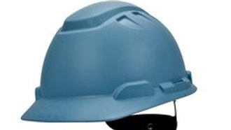 3M Elevated Temperature Hard Hat H-704T, Light Blue, 4-Point Ratchet