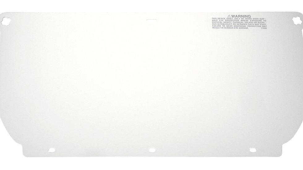 3M™ Clear Polycarbonate Faceshield WP98, 82543-00000, Flat Stock 10 EA/Case