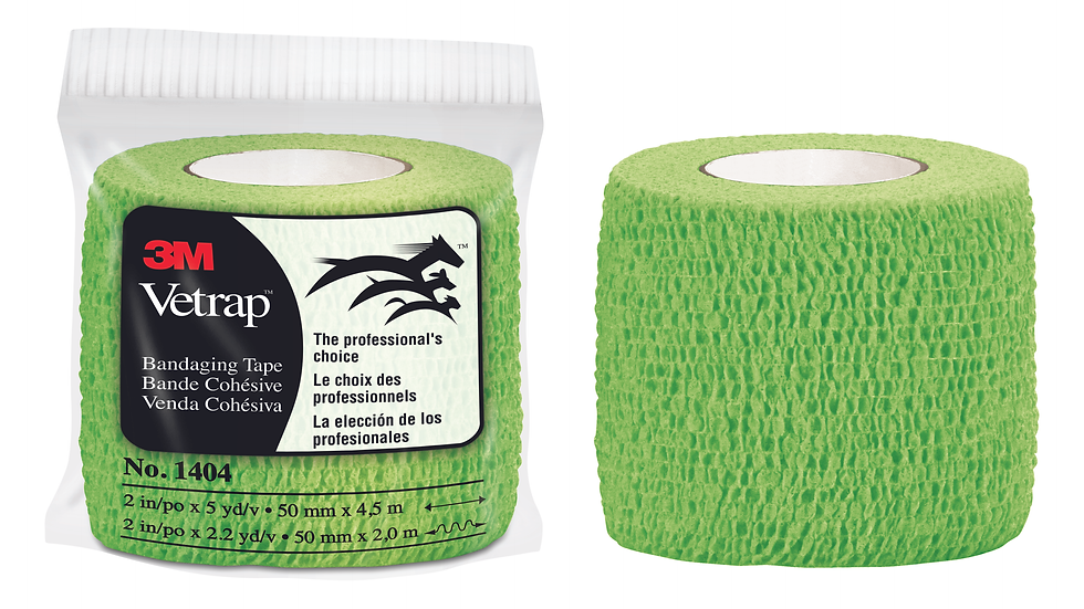 3M™ Vetrap™ Bandaging Tape, 1404LG Lime Green, 18 rolls/box