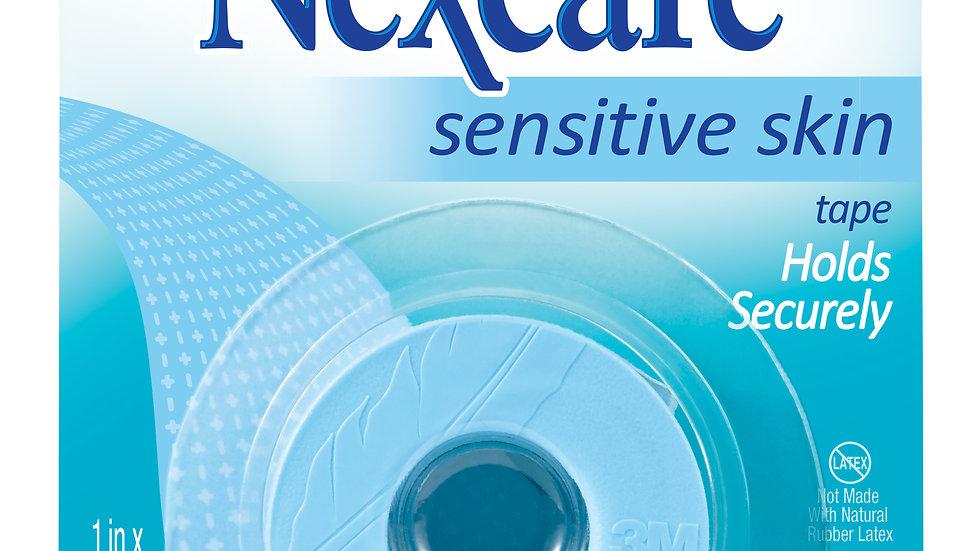 Nexcare™ Sensitive Skin Tape SLT-1, 1 in x 4 yd (25,4 mm x 3,65 m)