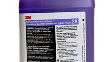 3M™ Heavy Duty Multi-Surface Cleaner Concentrate 2A, 0.5 Gallon, 4/Case