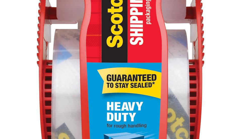 Scotch® Heavy Duty Shipping Packaging Tape 142, 1.88 in x 800 in