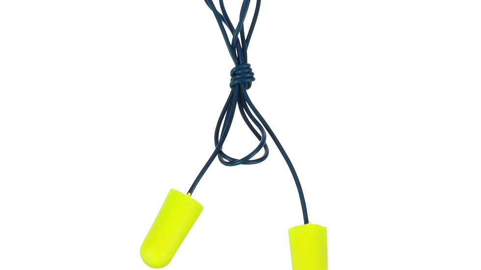 3M™ E-A-Rsoft™ Earplugs 311-4106, Metal Detectable, Corded, Poly Bag