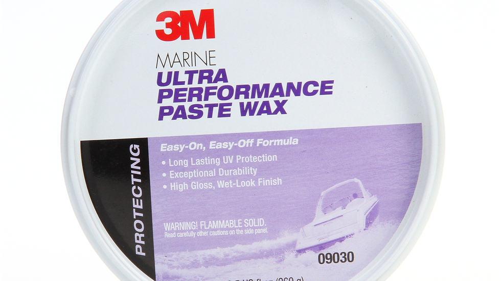 3M™ Marine Ultra Performance Paste Wax, 09030, 9.5 oz, 6 per case