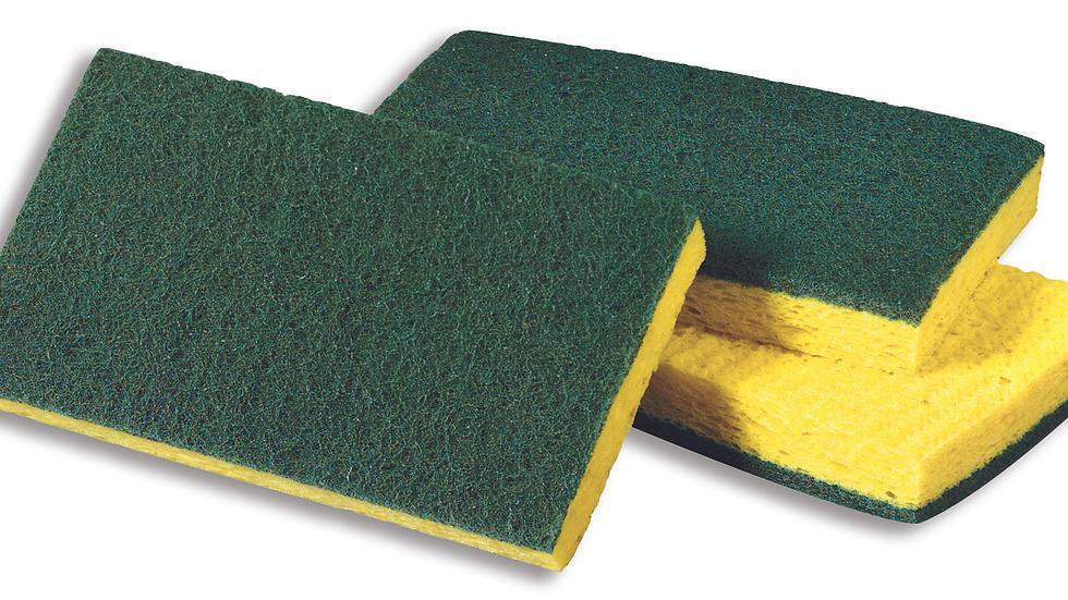 Scotch-Brite™ Medium Duty Scrubbing Sponge 74CC, 6.1 in x 3.6 in x 0.7 in