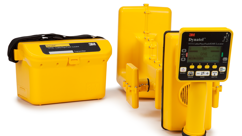3M™ Dynatel™ 7550E-ID/CU5 Cable/Pipe/EMS Locator Communications/Utility