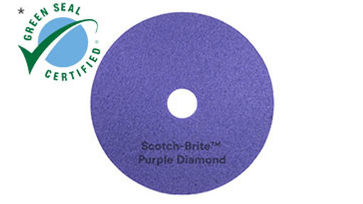Scotch-Brite™ Purple Diamond Floor Pad Plus, 57 in x 39 m, Jumbo