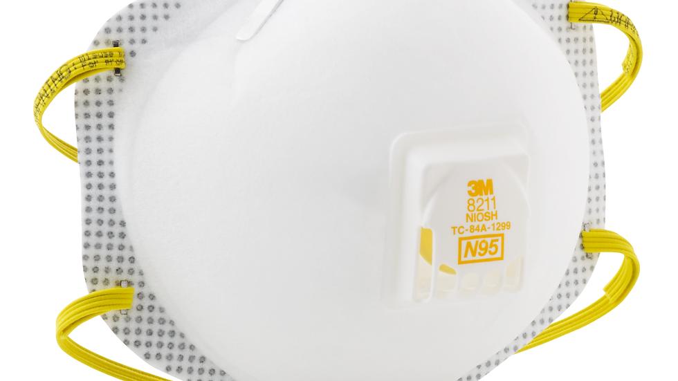 3M™ Particulate Respirator 8211, N95 80 EA/Case