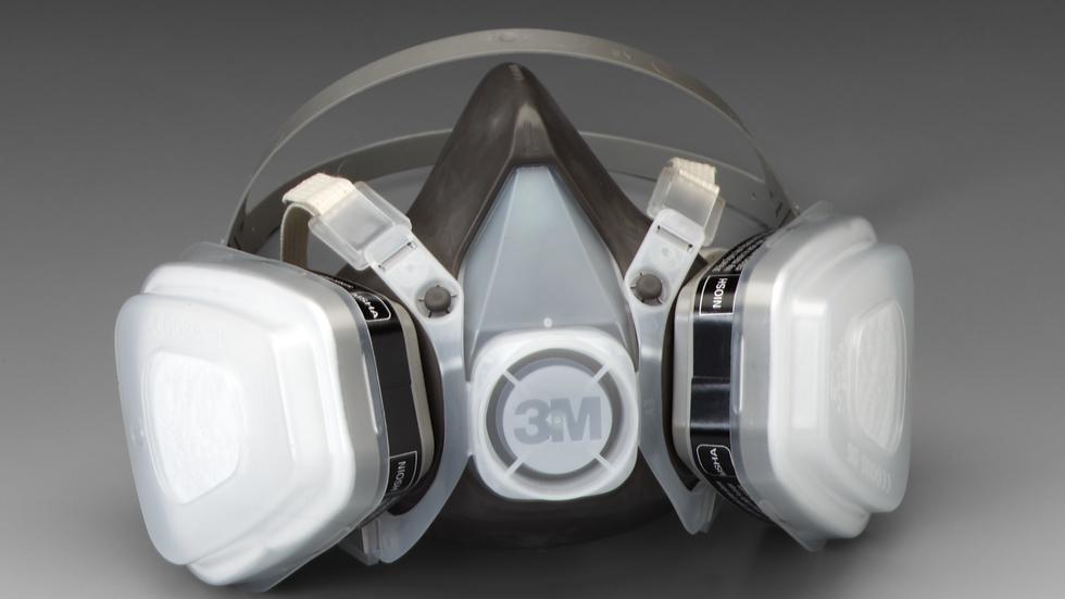 3M™ Half Facepiece Disposable Respirator Assembly 53P71