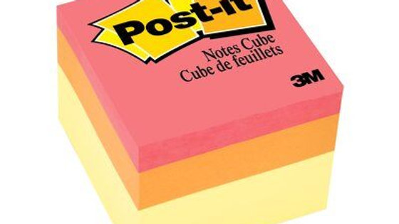 Post-it® Notes Cube 2051-EBO-R 2 in x 2 in