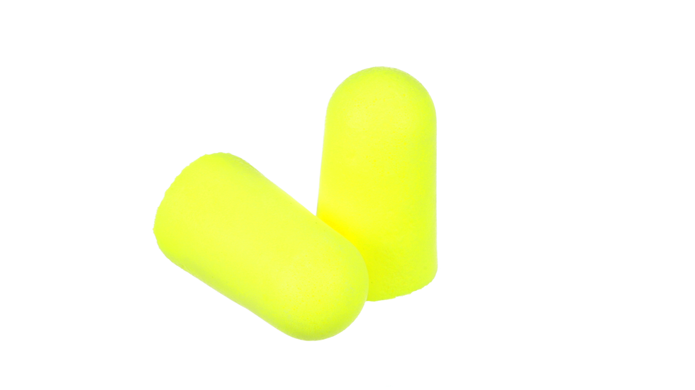 3M™ E-A-Rsoft™ Yellow Neons™ Earplugs 312-1251, Uncorded, Poly Bag, Large Size