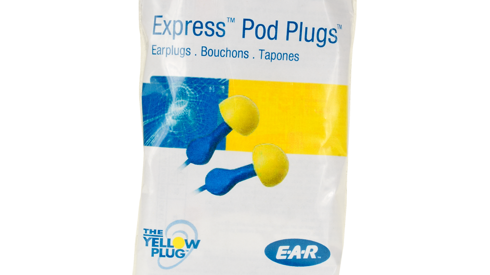 3M™ E-A-R™ EXPRESS™ Pod Plugs™ Earplugs VP311-1115