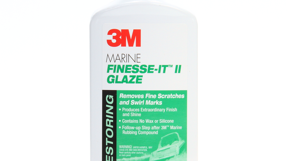3M™ Marine Finesse-It™ II Glaze, 09048, 1 Pint (16 fl oz/473 mL)