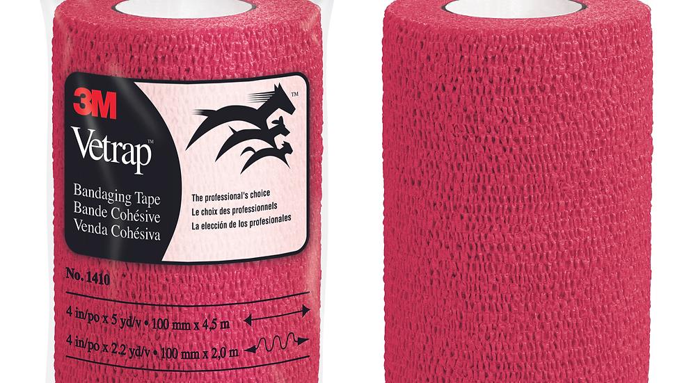 3M™ Vetrap™ Bandaging Tape Bulk Pack, 1410R Bulk Red