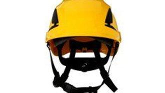 3M™ SecureFit™ Safety Helmet, X5002V-ANSI,  Yellow, vented, 10 EA/Case