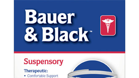 Bauer & Black™ 0-16 Suspensory W/O Leg Strap 202430, Large