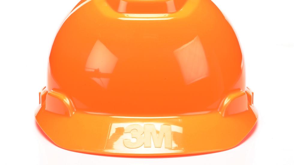 3M™ Hard Hat H-707V, Hi-Vis Orange 4-Point Ratchet Suspension Vented 20 EA/Case