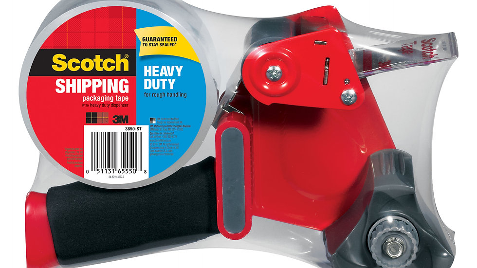 Scotch® Heavy Duty Shipping Packaging Tape 3850-ST