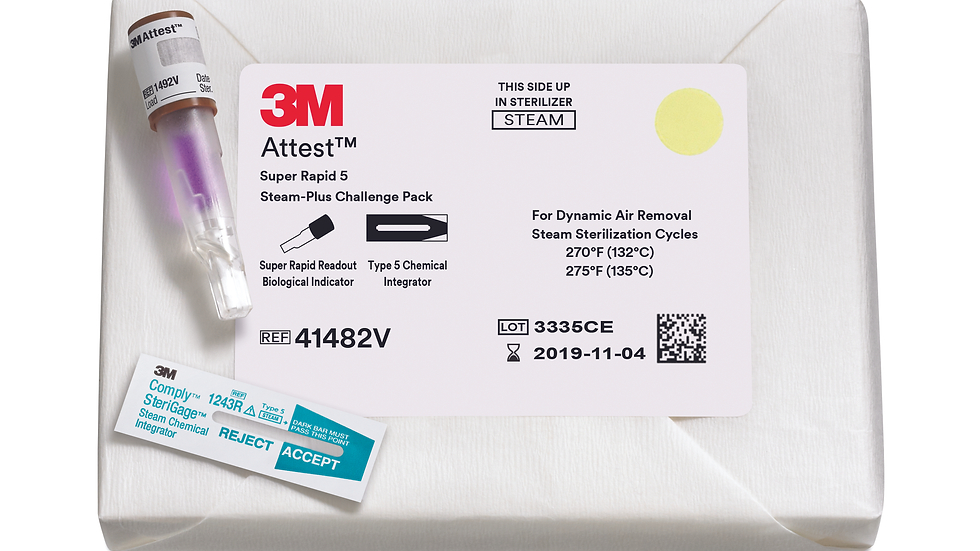 3M™ Attest™ Super Rapid 5 Steam-Plus Challenge Pack 41482V