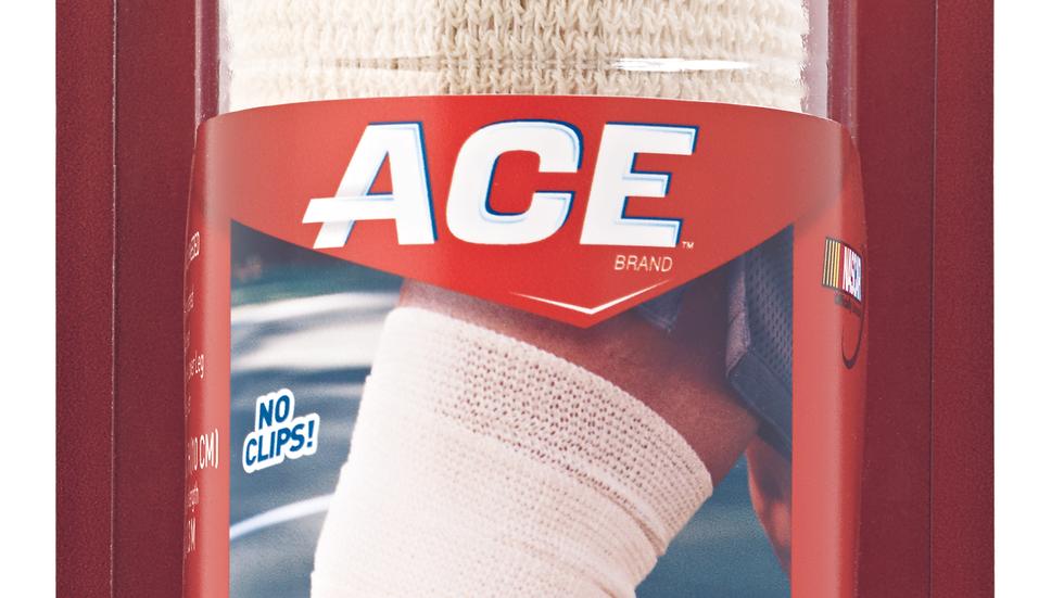 ACE™ Self-Adhering Elastic Bandage 207462, 4 in