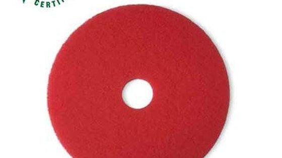3M™ Red Buffer Pad 5100, 21 in, 5/Case
