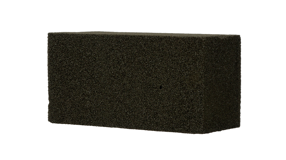 Grill-Brick™ Grill Cleaner GB12, 3.5 in x 4 in x 8 in, 12/Case