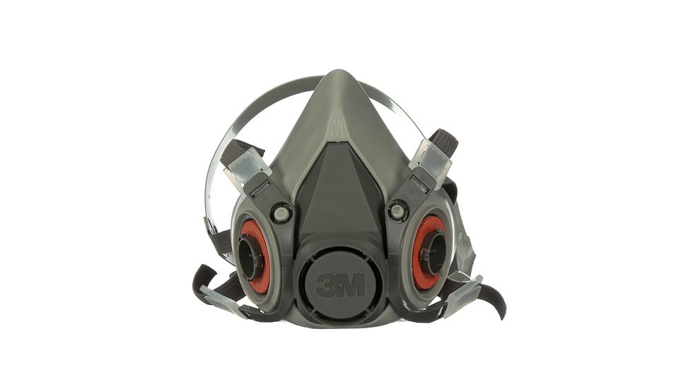3M™ Half Facepiece Reusable Respirator 6200/07025(AAD) Medium 24 EA/Case