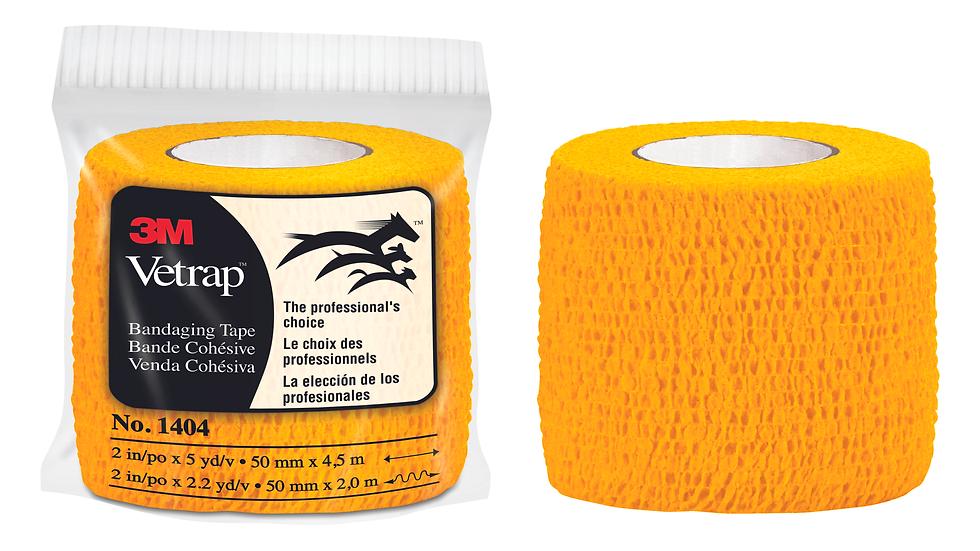 3M™ Vetrap™ Bandaging Tape Bulk Pack, 1404GD Bulk Gold