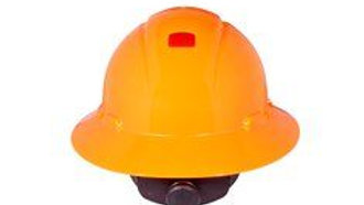 3M™ Full Brim Hard Hat H-807V-UV, Hi-Vis Orange 4-Pt Ratchet