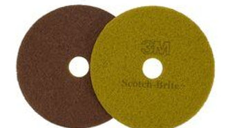 Scotch-Brite™ Sienna Diamond Floor Pad Plus, 12 in, 5/Case
