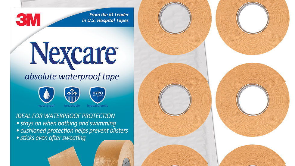 Nexcare™ Absolute Waterproof First Aid Tape 731-SIOC