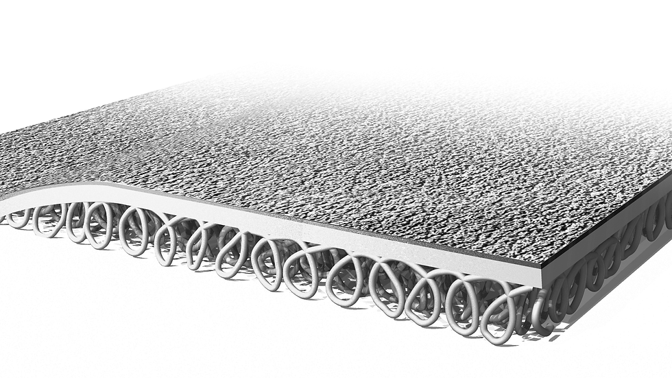 3M™ Safety-Walk™ Cushion Matting 3270E, Black, 4 ft x 6 ft, 1/Case
