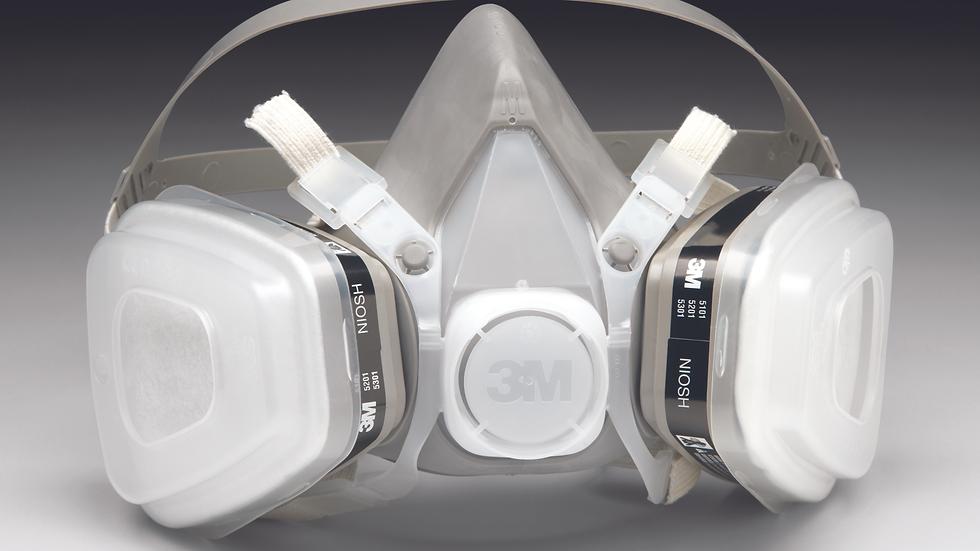 3M™ Half Facepiece Disposable Respirator Assembly 51P71, Organic Vapor