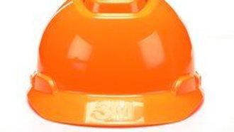 3M™ Hard Hat H-707V-UV, Hi-Vis Orange, 4-Point Ratchet Suspension, Vented