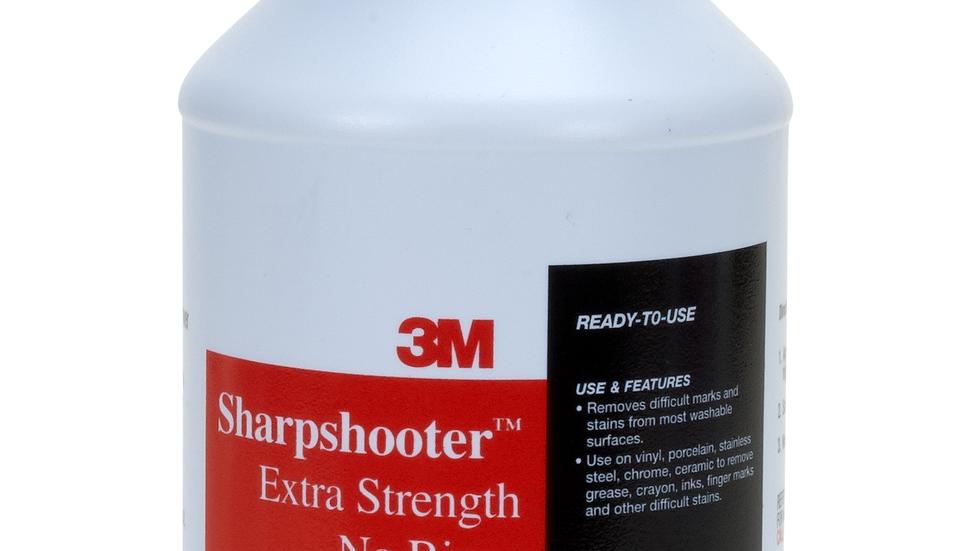 3M™ Sharpshooter™ Extra Strength No-Rinse Mark Remover, 1 Quart, 12/Case