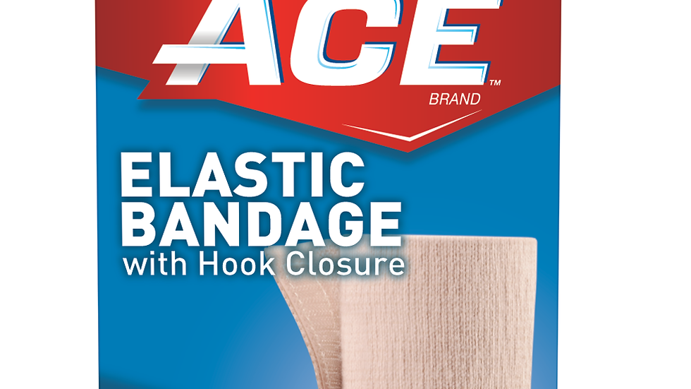 ACE™ Elastic Bandage w/ hook closure 207603, 3 in