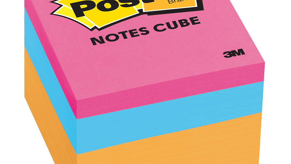 Post-it® Notes Cube, 2051-N, 1 7/8 in x 1 7/8 in (47.6 mm x 47.6 mm) 400 sheets