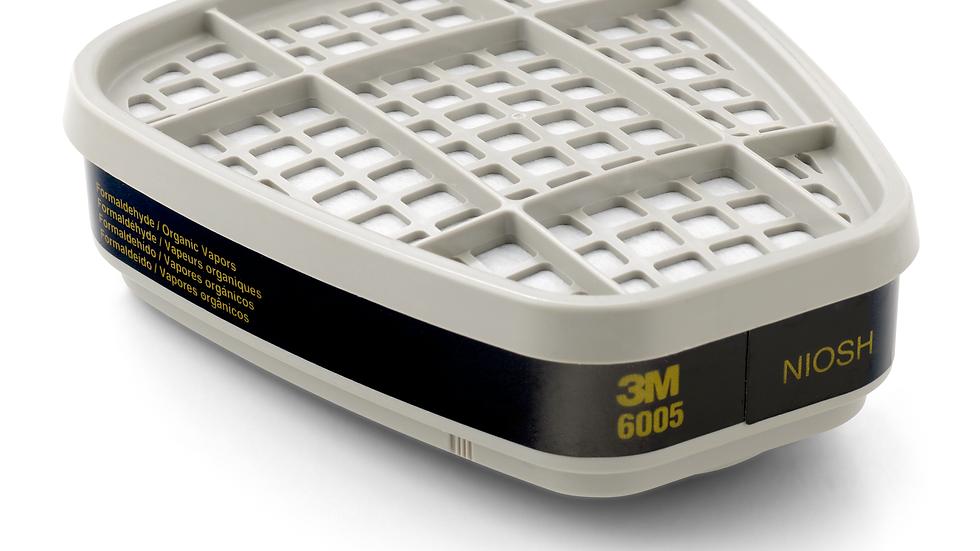 3M™ Formaldehyde/Organic Vapor Cartridge 6005, 60 EA/Case