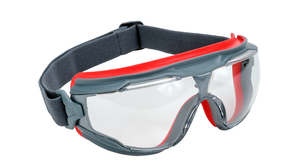 3M™ GoggleGear™ 500 Series GG501SGAF, Clear Scotchgard Anti-fog lens 10