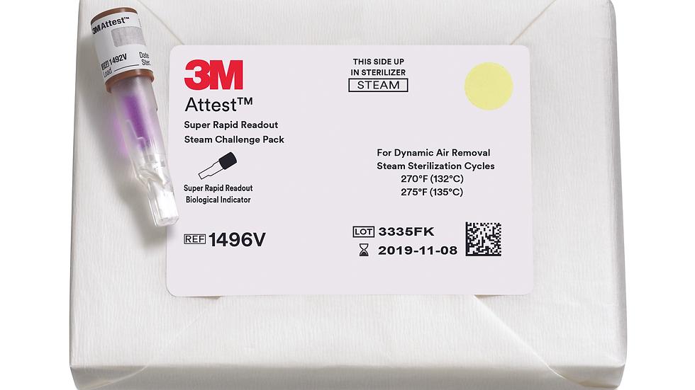 3M™ Attest™ Super Rapid Readout Steam Challenge Pack 1496V