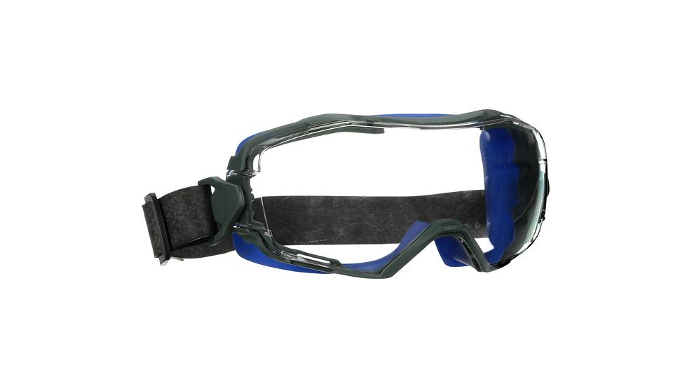 3M™ GoggleGear™ 6000 Series, GG6001NSGAF-BLU, Blue Shroud, Neoprene Strap