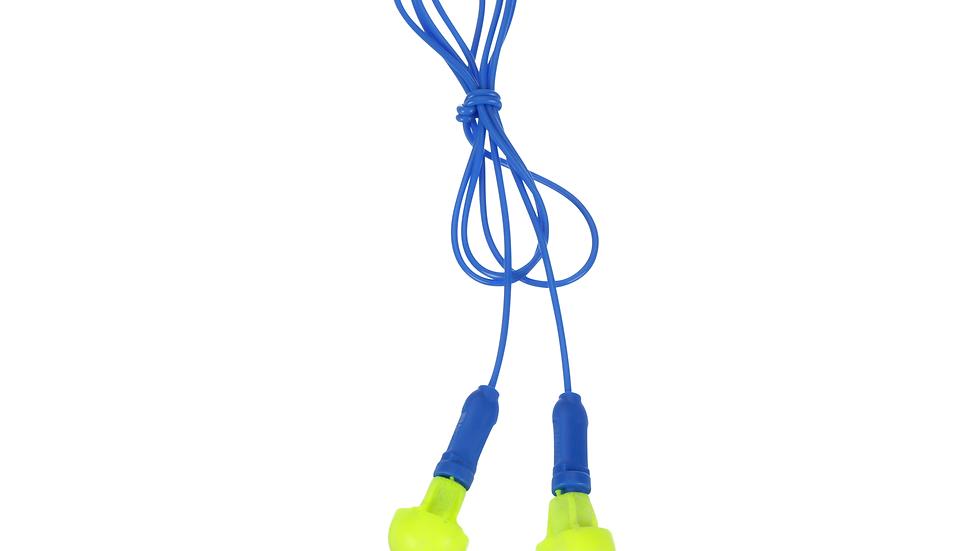 3M™ E-A-R™ Push-Ins™ Earplugs 318-1001, Corded, Poly Bag, 400 Pair/Case