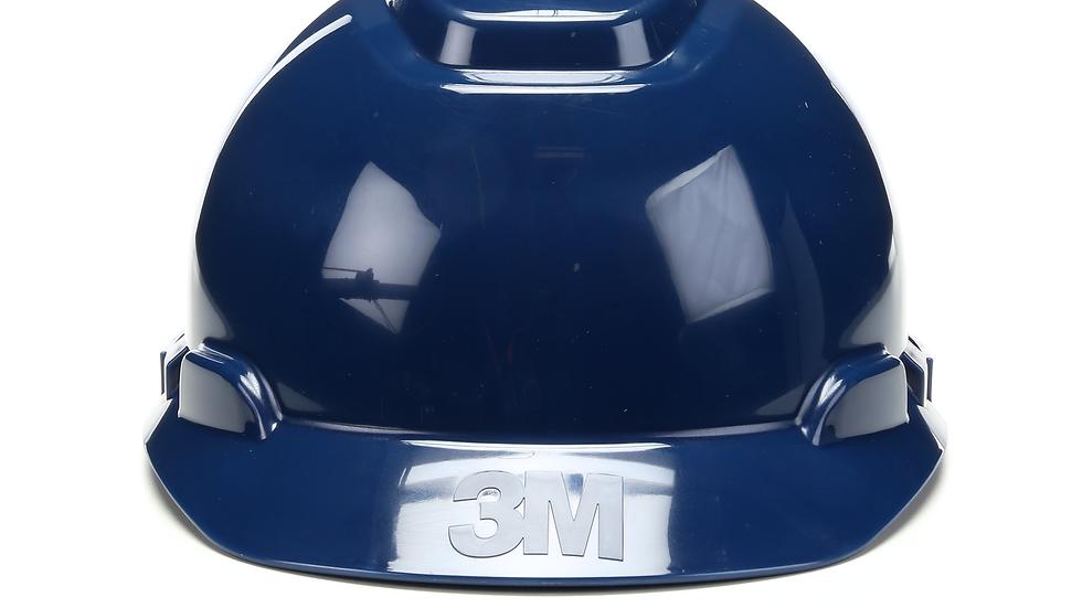 3M™ Hard Hat H-710R, Navy Blue 4-Point Ratchet Suspension, 20 EA/Case