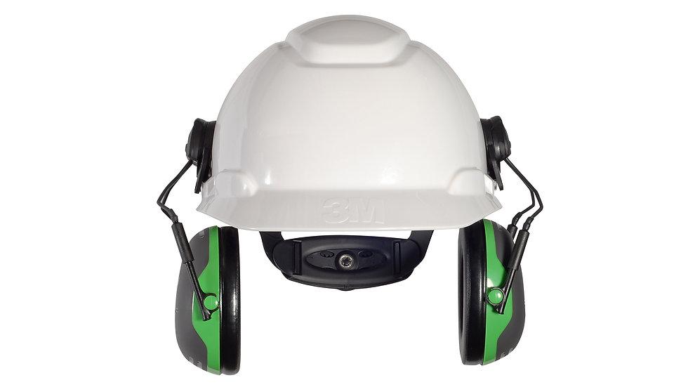 3M™ PELTOR™ X1 Earmuffs X1P3E/37275(AAD), Hard Hat Attached, 10 EA/Case