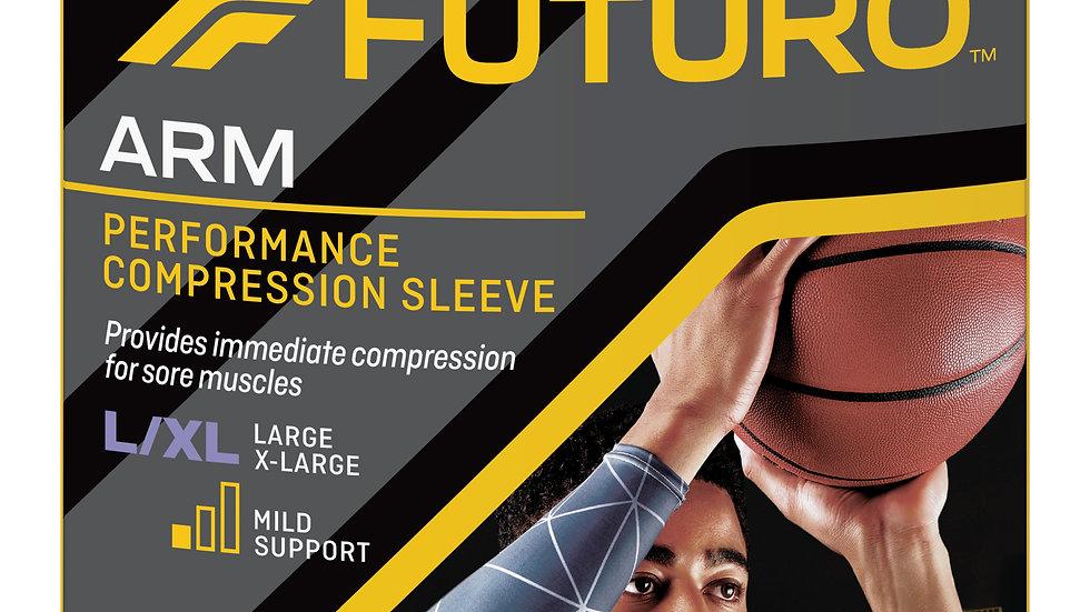 FUTURO™ Performance Compression Arm Sleeve, 80202EN, Large / X-Large