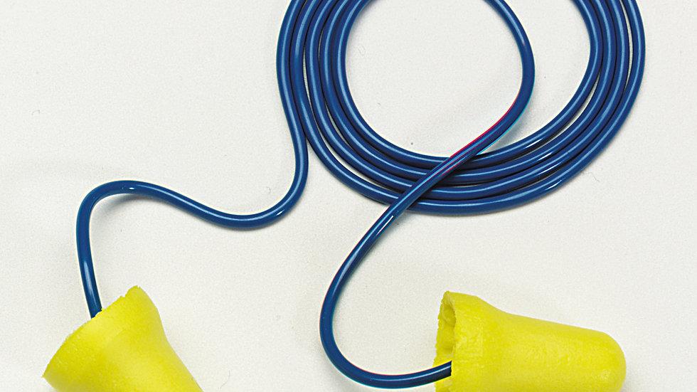 3M™ E-A-R™ E-Z-Fit™ Earplugs 312-1222, Corded, Poly Bag, 2000 Pair/Case