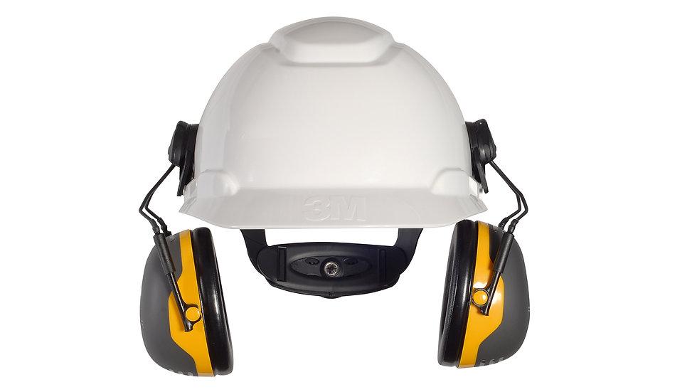 3M™ PELTOR™ X2 Earmuffs X2P3E/37276(AAD), Hard Hat Attached, 10 EA/Case