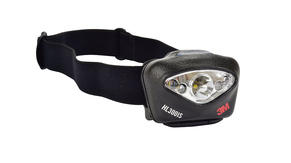 3M™ Hard Hat 150 Lumen, Intrinsically Safe Task Light, HL300IS, 10